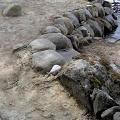 Kiviaskelma ja ympäristö.