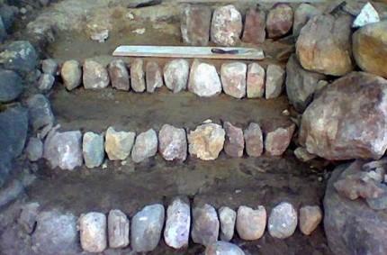 Kiviportaat rakentaminen 06