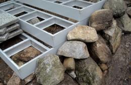 Uusi kiviporras rakentaminen 05